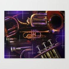 The Trumpet Glow Canvas Print