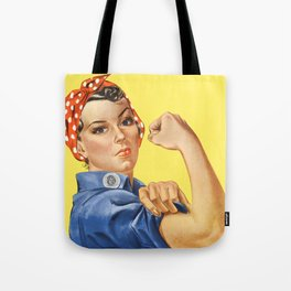 We Can Do It - Rosie the Riveter Poster Tote Bag