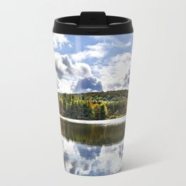 Fall Reflection Landscape Travel Mug