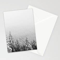 Winter vibes #evergreen #society6 Stationery Cards