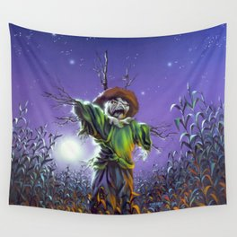 The Scarecrow Walks at Midnight Wall Tapestry