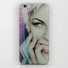 'Pink II' iPhone Skin