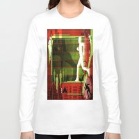 running Long Sleeve T-shirts featuring Running by Robin Curtiss