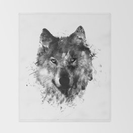 Wolf Like Me V2 Throw Blanket