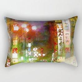 Just one street Rectangular Pillow