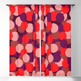 Abstraction_DOTS_COLOR_02 Blackout Curtain