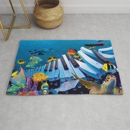 Underwater - Island Ivories Rug