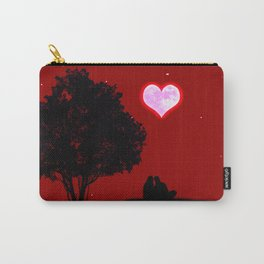 Red moon of love Carry-All Pouch