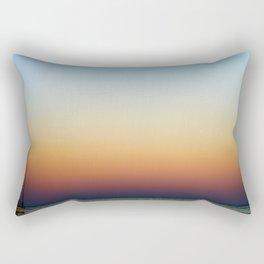 Single Sailboat Rectangular Pillow