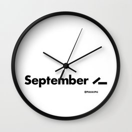 September 11 (2001) Wall Clock