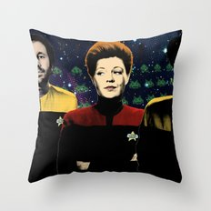 IT Trek Throw Pillow