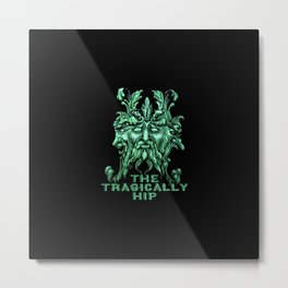 The Tragically Hip Root Cover Metal Print