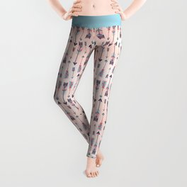 Patterned Arrows Leggings