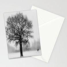 Walking in a winter wonderland Stationery Cards
