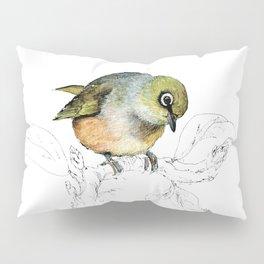 Sylvereye - Waxeye bird Pillow Sham