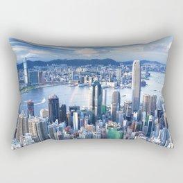 Hong Kong-Buildings Rectangular Pillow