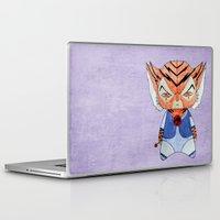 thundercats Laptop & iPad Skins featuring A Boy - Tygra (Thundercats) by Christophe Chiozzi