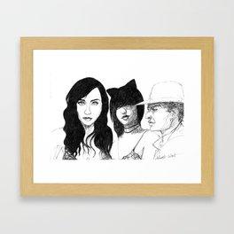 Eyes and Ears  Framed Art Print