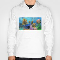 under the sea Hoodies featuring Under the Sea by Hand Fan