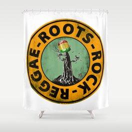 Roots - Rock - Reggae. Shower Curtain
