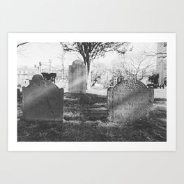 Old Burial Ground Art Print