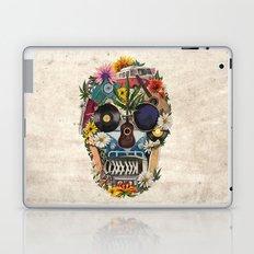 retro 70s skull Laptop & iPad Skin