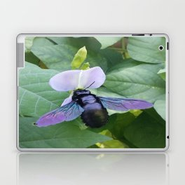 Between A Bee & A Flower Laptop & iPad Skin