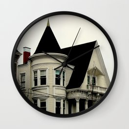 Ghostly Gothic Wall Clock