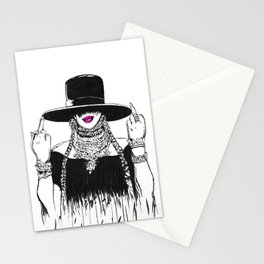 Flippin The Bird Formation Stationery Cards