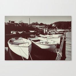 Rescue Boats Canvas Print