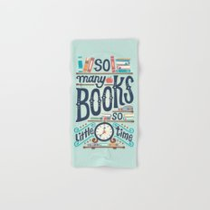 So many books so little time Hand & Bath Towel