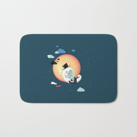 Monsieur Salut Bath Mat