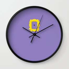 Friends Peephole Frame Wall Clock