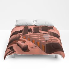 Low Poly Industry Comforters