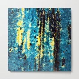 Tree Bark Abstract # 14 Metal Print