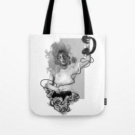 Angel Down Tote Bag