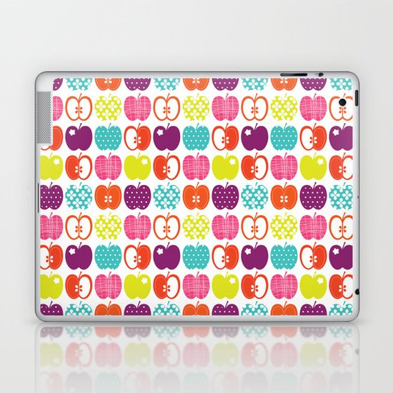 Textured Apples Laptop & iPad Skin