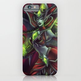 Blood Queen Lana'thel iPhone Case