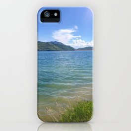 Lakeside bliss iPhone Case