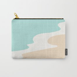 Coastal Shoreline / Abstract Landscape Series Carry-All Pouch