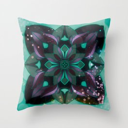 Lucky 4 leaves Throw Pillow