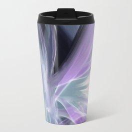Flowy Abstract Flowers 5 Travel Mug