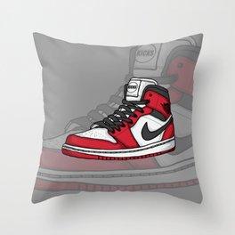 Jordan1-OG Chicago Throw Pillow