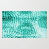 tie dye Area & Throw Rugs featuring Tie Dye  by Jenna Davis Designs