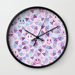 my checkered past Wall Clock
