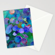 Colored Wood Pile 3 Stationery Cards