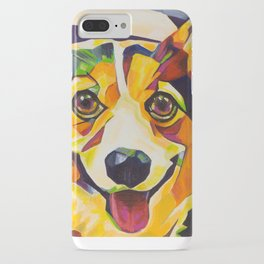 Pop Art Corgi iPhone Case