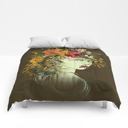 Persephone, goddess of Spring Comforters