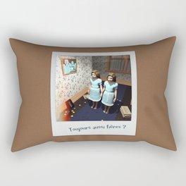 Toujours aussi fières ? Rectangular Pillow