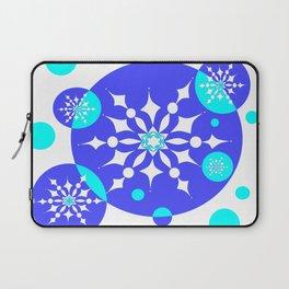 A Delightful Winter Snow Design Laptop Sleeve